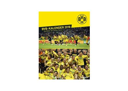 BVB Borussia Dortmund Kalender Jahreskalender Fotokalender 2018
