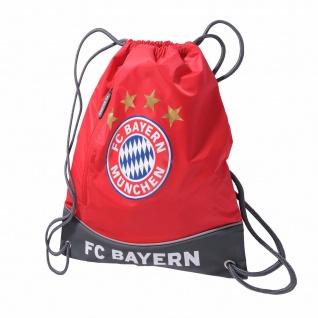 FC Bayern München Sportbeutel / Turnbeutel rot