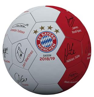 FC Bayern München Fußball Unterschriften Ball *** Signature *** Gr. 5