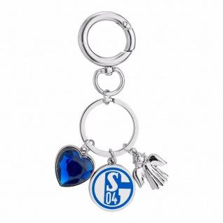 """Fc Schalke 04 Schlüsselanhänger """" Charms Damen"""