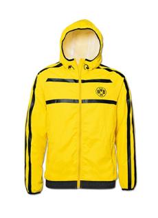 BVB Borussia Dortmund Jacke / Windbreaker ** Gelb ** 15217802