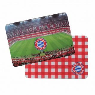 """FC Bayern München """" Brotzeit """" Brettchen / Frühstücksbrettchen 2er Set 21805"""