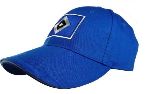 "HSV Hamburger Sportverein Kappe / Cap "" Raute "" Baseballcap blau"