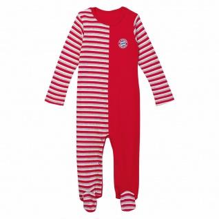 FC Bayern München Baby Strampler Stripes gestreift Gr. 62 / 68