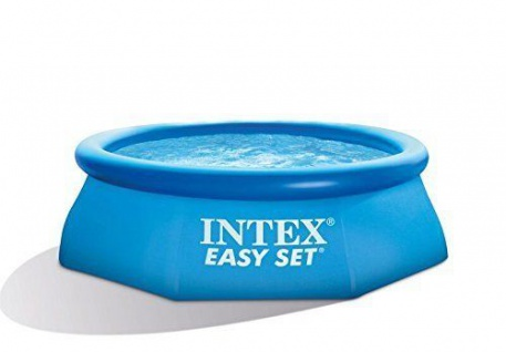 Intex Easy Set Pool 244 x 76 cm Quick up Pool (12811) Planschbecken