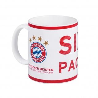 FC Bayern München Tasse / Becher / Kaffeetasse *** Deutscher Meister 2018 ***