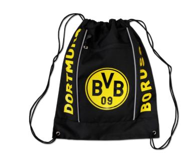 BVB Borussia Dortmund Turnbeutel / Sportbeutel / Beutel *** schwarzgelb ***