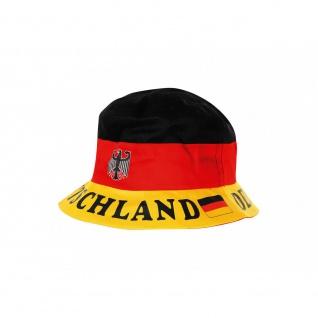 Deutschland WM Fanartikel Hut / Fischerhut / Anglerhut ** Anglerhut mit Druck **
