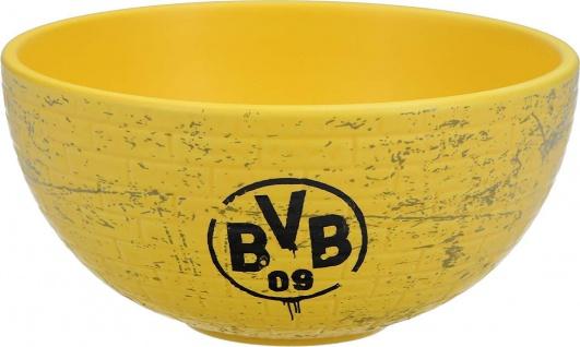 BVB Borussia Dortmund Frühstücksschale / Müslischale ** Gelbe Wand **