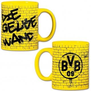 "BVB Borussia Dortmund Tasse / Kaffeebecher "" Gelbe Wand"