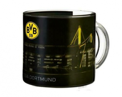 BVB Borussia Dortmund Tasse / Kaffeebecher *** Zauberglas ***