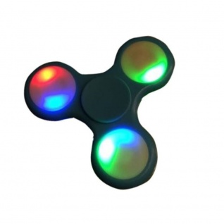 Fidget Finger Spinner / Fingerkreisel LED Beleuchtung Anti - Stress Farbwahl