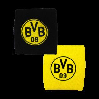 BVB Borussia Dortmund Schweißarmband / Schweißband ** Schwarz / Gelb ** 19270300