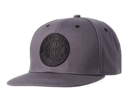 FC Bayern München Cap / Kappe / Baseballcap *** Emblem schwarz *** 23261