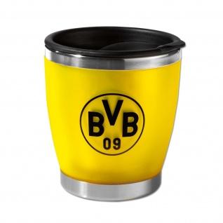 BVB-Borussia Dortmund Kaffeebecher Becher Tasse Coffee-to-go (Emsa) (gelb)