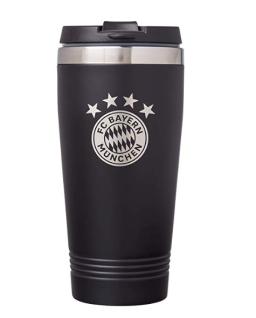 FC Bayern München Thermobecher *** Schwarz *** 23368