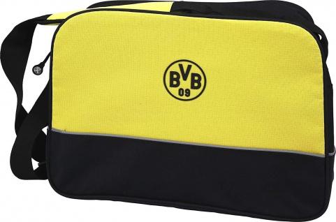 BVB Borussia Dortmund Tasche / Schultertasche ** schwarzgelb **