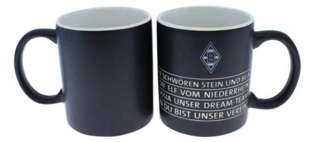 Borussia Mönchengladbach Kaffeebecher / Tasse ** Hymne **