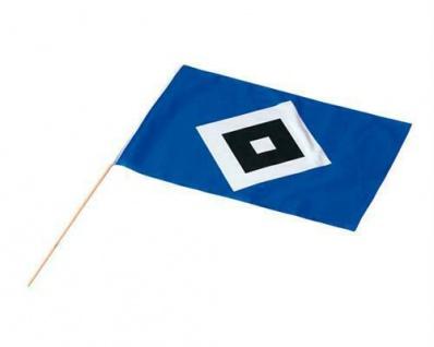 HSV Hamburger SV Fahne / Stockfahne 30x45 21270