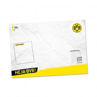 BVB Borussia Dortmund Schreibtischauflage / Schreibtischunterlage ** HEJA BVB **