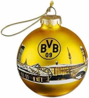 BVB Borussia Dortmund Weihnachtskugel / Christbaumkugel ** Skyline **
