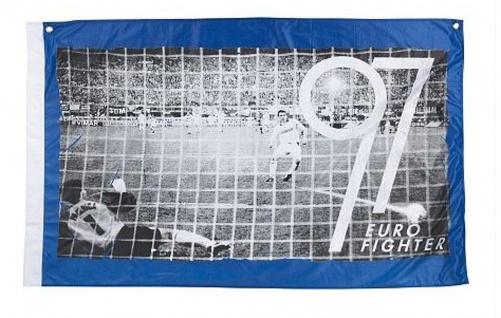 "FC Schalke 04 Hissfahne/ Hissflagge "" Eurofighter"" (Fahne) (2 Ösen)"