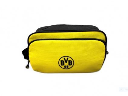 BVB Borussia Dortmund *** Kulturbeutel / Kulturtasche *** schwarzgelb 18420618