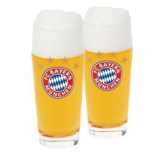 FC Bayern München Halbeglas 2er Set (Glas / Bierglas)