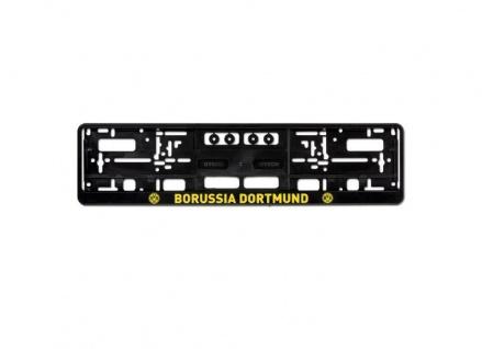 """BVB - Kennzeichenverstärker / Nummernschildhalter """" Emblem """" 2 Stck"""