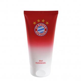 "FC Bayern München"" Duschgel "" 2 in1 Haut und Haar 150ml 100ml/€4, 63 Neu"