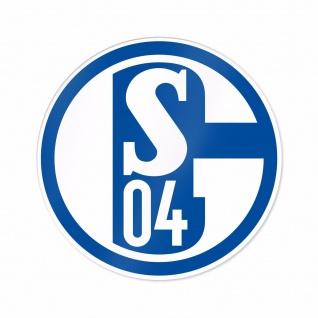 """FC Schalke 04 Aufkleber """" BLAU UND WEISS """" (Autoaufkleber / Sticker )"""