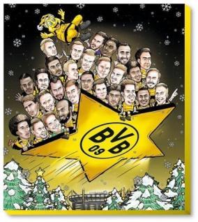 BVB Borussia Dortmund Comic Adventskalender XXL 2018 inc. Autogrammkarten
