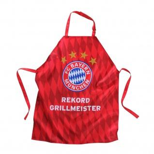 FC Bayern München Grillschürze / Kochschürze