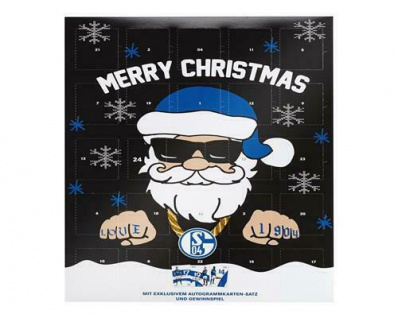 FC Schalke 04 Kalender / Adventskalender TEAM incl. Autogrammkarten 23027