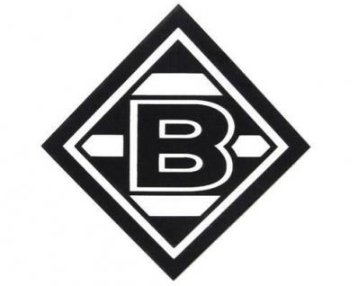 Vfl Borussia Mönchengladbach Aufkleber Schwarz 98566