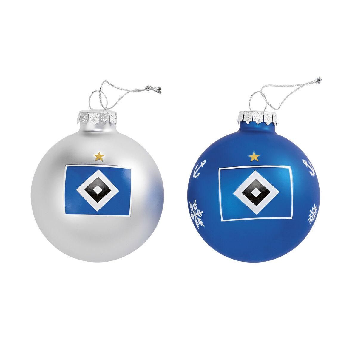 Hsv Weihnachtskugeln.Sport Christbaumkugeln 4er Set Hsv Hamburger Sportverein