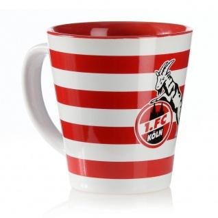 1. FC Köln Tasse / Kaffeebecher ? Streifen