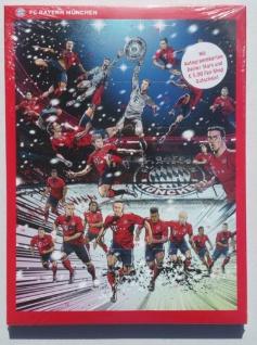 FC Bayern München Schoko-Adventskalender 2018 ( incl. Autogrammkarten )