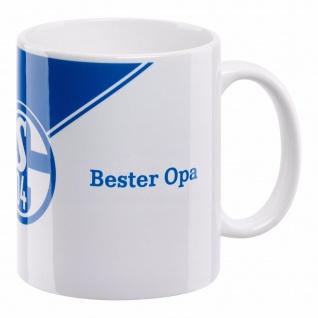 FC Schalke 04 Kaffeebecher / Tasse / Bester OPA
