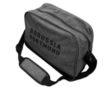 BVB Borussia Dortmund Tasche / Umhängetasche / Schultertasche ** Grau ** 1842070