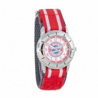 FC BAYERN MÜNCHEN Armbanduhr / Kinderuhr / Uhr (rot) inc. Geschenkbox