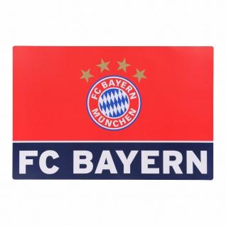 FC Bayern München Schreibtischunterlage Schreibtischauflage rot/blau