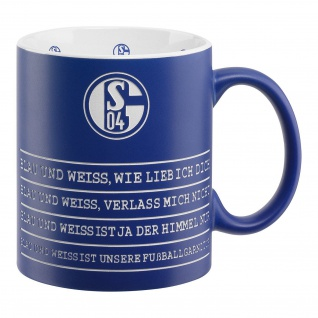 Fc Schalke 04 Tasse / Kaffeebecher ** Hymne **