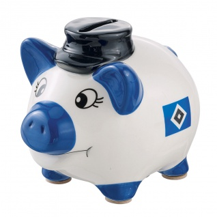 HSV Hamburger Sportverein *** Sparschwein mit Hut *** 29329
