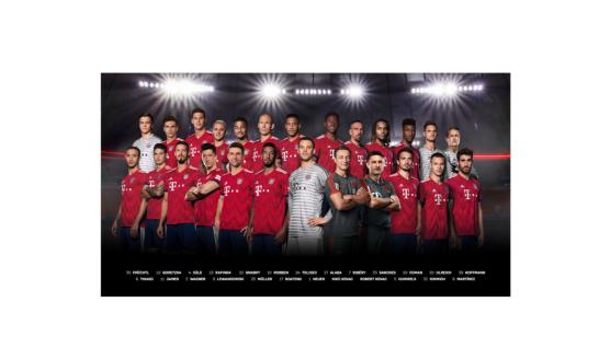 FC Bayern München Poster / Mannschaftsposter *** Team *** 2018/19 23671