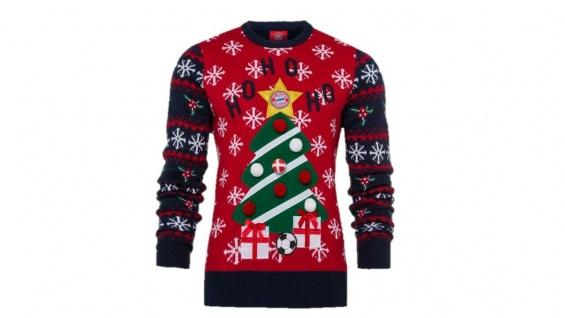 FC Bayern München Weihnachtspullover / Christmas Sweater ** Weihnachtsbaum **