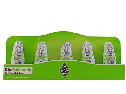 VFL Borussia Mönchengladbach Mini Osterhasen (5er Set) (Osterhase)