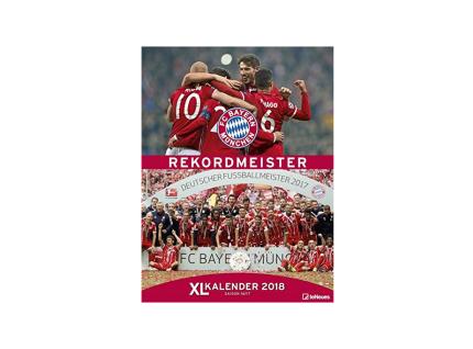 FC Bayern München Kalender Fotokalender Jahreskalender