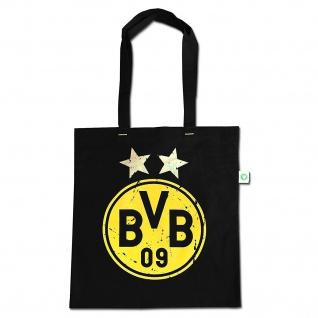 """BVB Borussia Dortmund Baumwoll Tragetasche """" Heja BVB """" Tasche"""