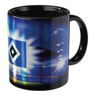 HSV Hamburger Sportverein Tasse / Kaffeebecher Metallic